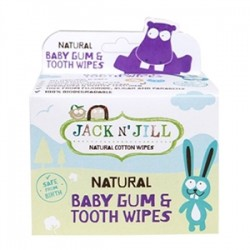 Jack And Jill Kids - Jack And Jill Natural Baby Gum&Tooth Wipes 25Adet