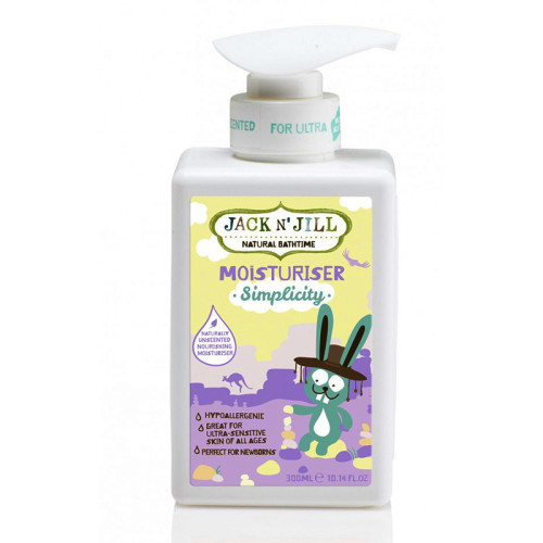 Jack And Jill Kids - Jack and Jill Natural Bathtime Moisturiser Simplicity 300ml