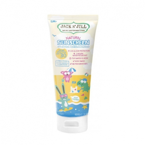 Jack And Jill Kids - Jack And Jill Natural Sunscreen SPF 30 100 ml