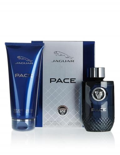 Jaguar - Jaguar Pace Bath Set Edt 100 ml + Shower Gel 200 ml Erkek Parfüm Set