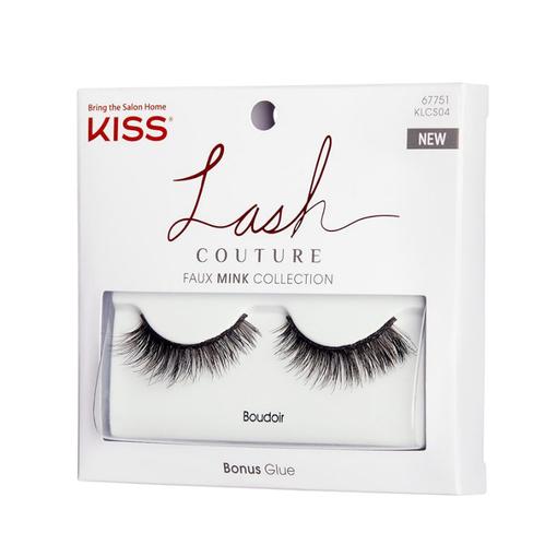Kiss - Kiss Lash Couture Faux Mink Komple Takma Kirpik - KLCS04C - Boudoir