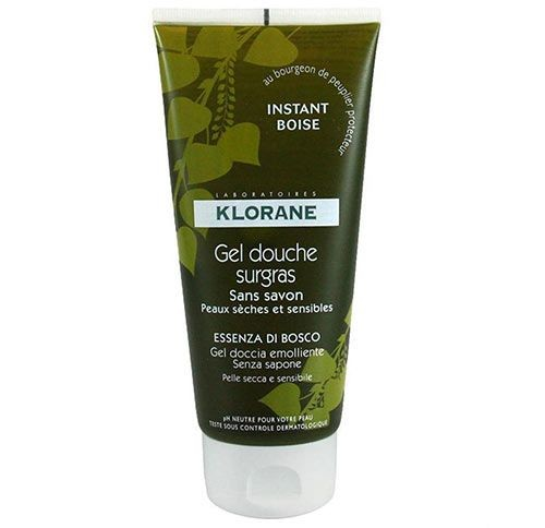 Klorane - Klorane Gel Douche Surgras Instant Boise Duş Jeli 200ml