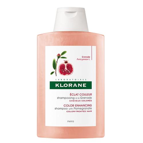 Klorane - Klorane Grenade Nar Ekstresi İçeren Boyalı Saçlar İçin Renk Koruyucu Şampuan 200ml