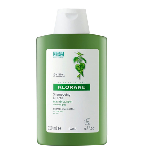 Klorane - Klorane Isırganotu Ekstresi İçeren Yağlı Saçlar İçin Bakım Şampuanı 200 ml