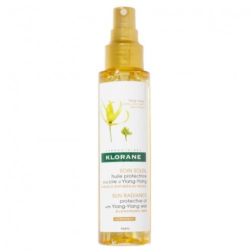 Klorane - Klorane Ylang Ylang Ekstreli Besleyici Güneş Saç Bakım Yağı 100ml