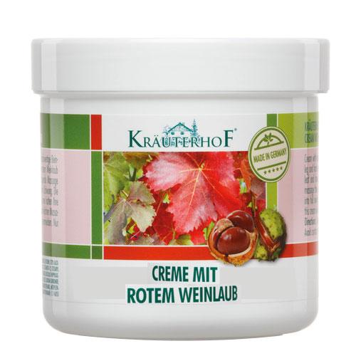 Krauterhof - Krauterhof Kırmızı Asma Yaprağı Bacak Kremi 100 ml