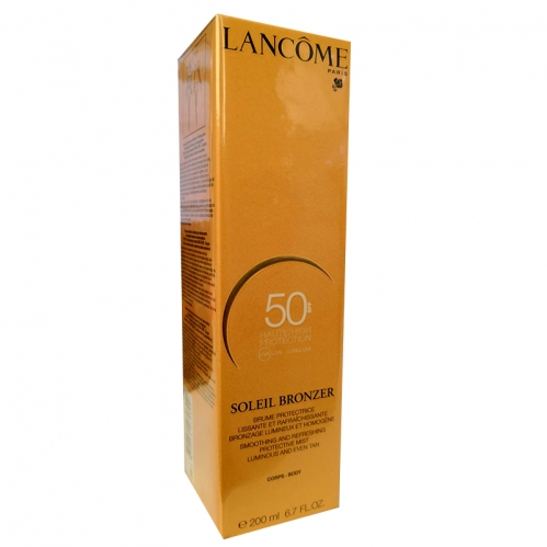 Lancome - Lancome Soleil Bronzer Smoothing and Refreshing Protective Body Sprey 200ml