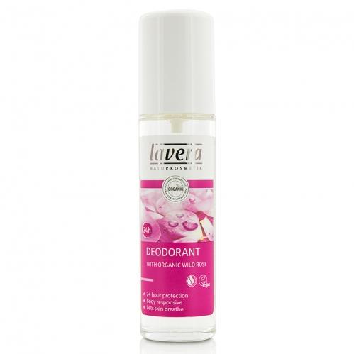 Lavera Ürünleri - Lavera 24H Deodorant Organic Wild Rose 75ml