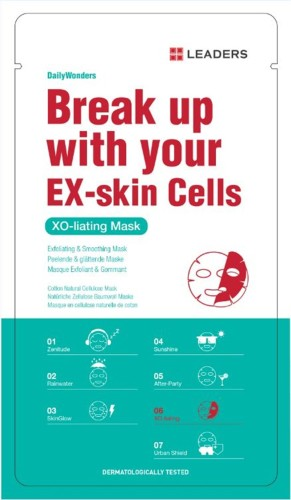 Leaders - Leaders Daily Wonders Break Up with Your Ex-Skin Cell Mask