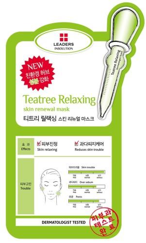 Leaders - Leaders Insolution Tea Tree Relaxing Skin Renewal Mask 25ml