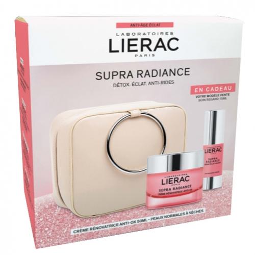 Lierac Christmas Supra Radiance Creme Set- Çantalı