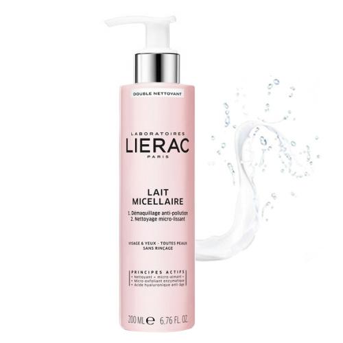 Lierac - Lierac Double Cleansing Micellar Milk Face&Eyes 200ml