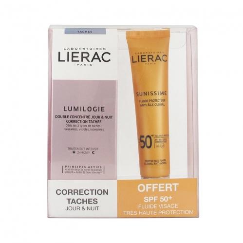 Lierac - Lierac Lumilogie Correction Taches Day And Night +Sunnissime SPF 50 +40 ml