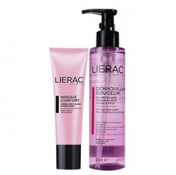Lierac - Lierac Masque Comfort Mask 50ml+Demaquillant Douceur Cleansing Water 200ml HEDİYE