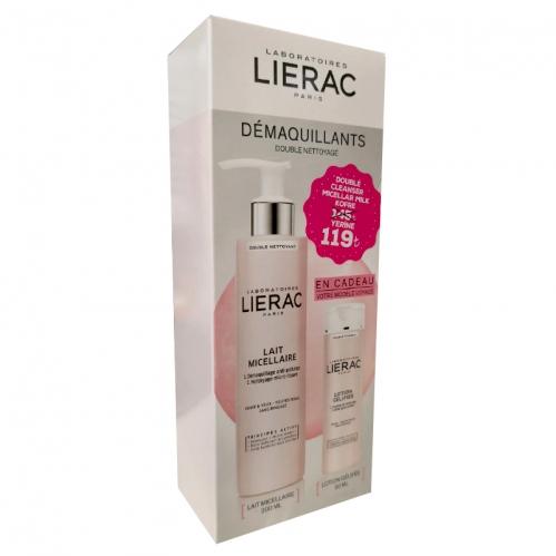 Lierac - Lierac Micellar Milk Double Cleanser SET