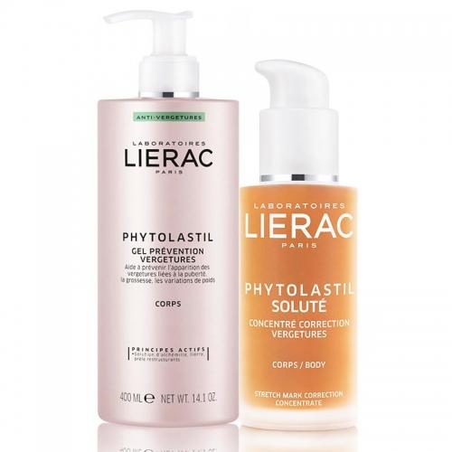 Lierac Phytolastil Çatlaklar için Jel 400 ml + Solute 75 ml