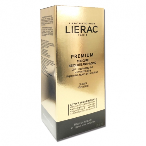 Lierac - Lierac Premium The Cure Absolute Anti-Aging Yaşlanma Karşıtı Bakım Kürü 30 ML