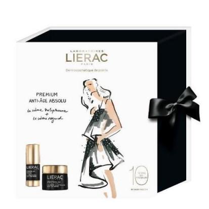 Lierac - Lierac Premium Voluptuous Cream + Eyes Care SET