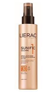 Lierac Sunific Suncare1 Iridescent Milk Spray 150ml