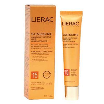 Lierac Sunissime Energizing Protective Fluid Spf15 40ml