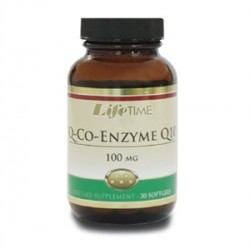 LifeTime - Lifetime Q-Co-Enzyme Q10 100 mg 30 Softgels