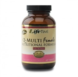LifeTime - Lifetime Q-MultiFemale 60 Tablets