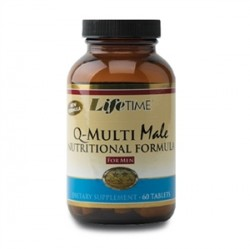 LifeTime - Lifetime Q-MultiMale 60 Tablets