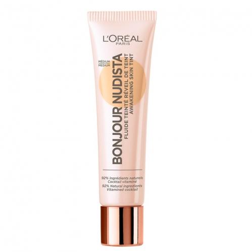 Loreal Paris - Loreal Paris BB Cream Bonjour Nudista Aydınlık Veren Renkli Nemlendirici 30 ml