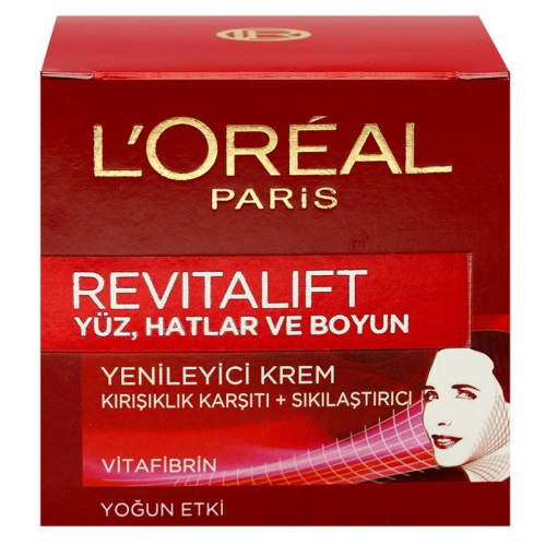 Loreal Paris - Loreal Paris Revitalift Yüz, Hatlar ve Boyun Kremi 50ml