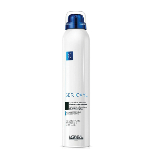 Loreal Professionnel - Loreal Professionnel Serioxyl Thinning Hair Spray 200 ml - Black