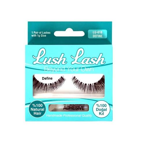 Lush Lash - Lush Lash %100 Doğal Kıl Define Takma Kirpik