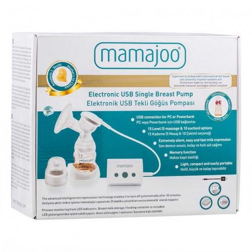 Mamajoo - Mamajoo Elektronik USB Tekli Göğüs Pompası