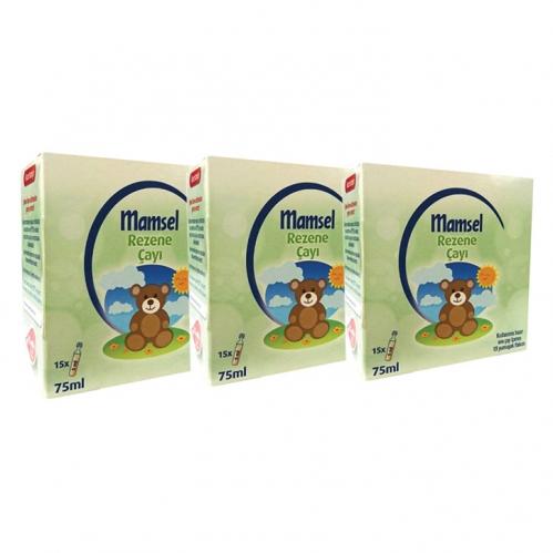 Mamsel - Mamsel Rezene Monodoz Çayı 15 x 5ml 3 Adet