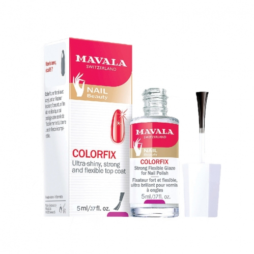 Mavala - Mavala Nail Beauty Colorfix Oje İçin Güçlü Esnek Cila 5 ml