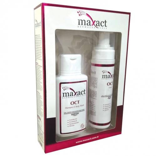 Maxact - Maxact Oct Saç Bakım Seti