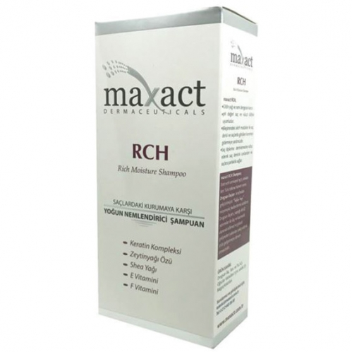 Maxact - Maxact Rch Moisture Shampoo 250ml