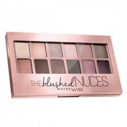 Maybelline - Maybelline The Blushed Nudes Eyeshadow Palette 9.6gr