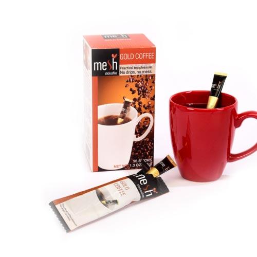 Mesh Stick Pharmacy Gold Kahve 16 adet