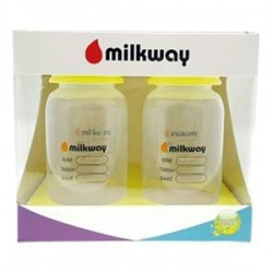 Milkway - Milkway Anne Sütü Saklama Kabı 150ml x 4