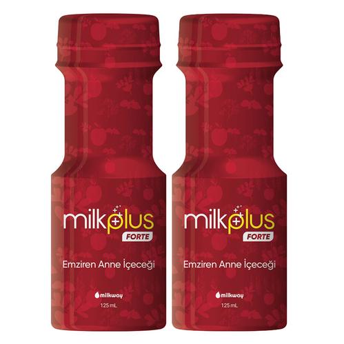 Milkway - Milkway Emziren Anneler için Çemenli ve Elma Sulu Takviye Edici Gıda 2 x 125 ml