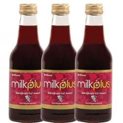 Milkway - Milkway Milkplus Çemenli Bitkisel Üzümlü İçecek 250cc 3 Adet
