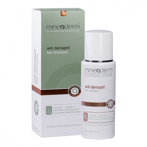 Mineaderm - Mineaderm Anti Damaged Hair Restoring Hair Shampoo 300 ML