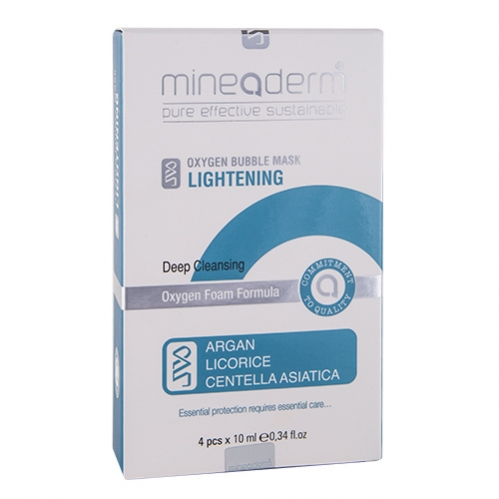 Mineaderm - Mineaderm Lightening Deep Cleansing Mask 4 x 10 ml