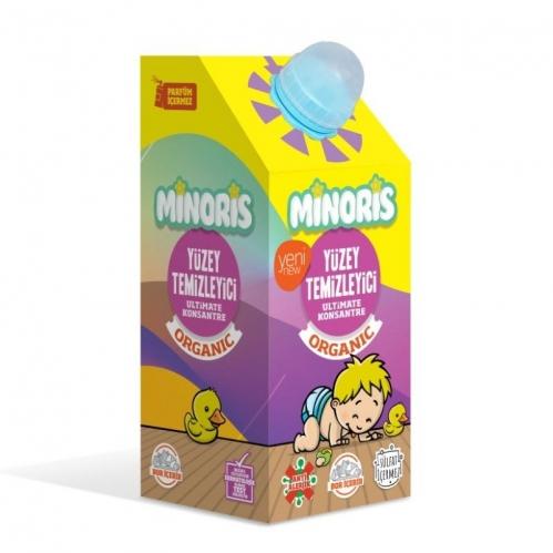 Minoris - Minoris Organik Yüzey Temizleyici 1 Litre