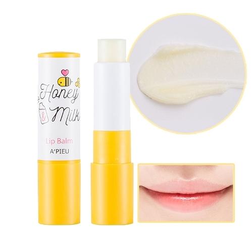 Missha - Missha A'PIEU Honey Milk Lip Balm 3.3 gr