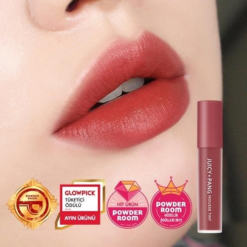 Missha - Missha A'PIEU Juicy Pang Mousse Tint 5.5 gr (CR03)