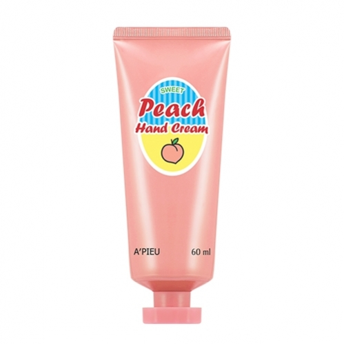 Missha - Missha A'PIEU Peach Hand Cream 60ml