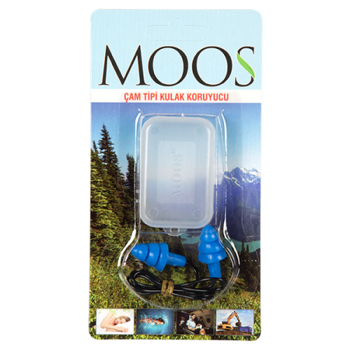 Moos - Moos Çam Tipi Kulak Tıkacı