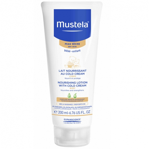 Mustela - Mustela Body Lotion With Cold Cream Nutri Protective 200 ML