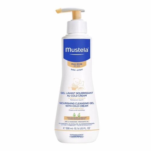 Mustela - Mustela Cleansing Gel With Cold Cream Nutri-Protectiv 300ml